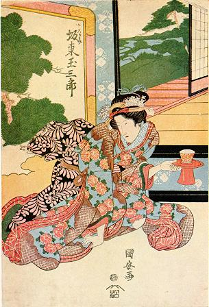 Kunisada Print
